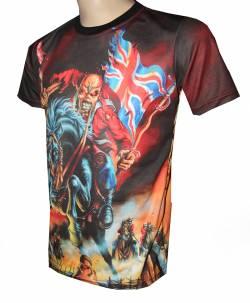 iron maiden eddie trooper camiseta musica bandas grupos metal pesado