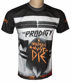 the prodigy invaders tshirt music groups rock bands heavy metal