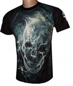 camiseta gothic skull castigador