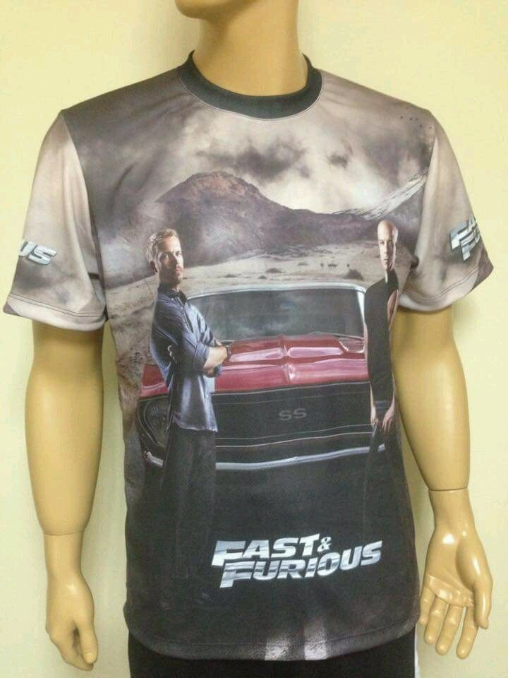 BMW M Series >> Fast and Furious t-shirt with logo and all-over printed ...