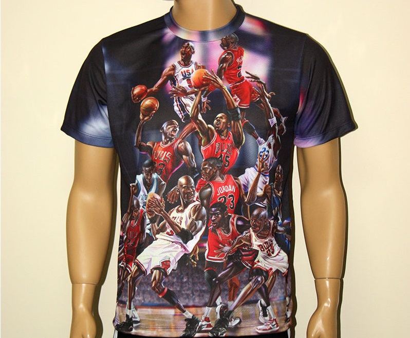 449518a47dfd07 MICHAEL JORDAN T-SHIRT - T-shirts with all kind of auto