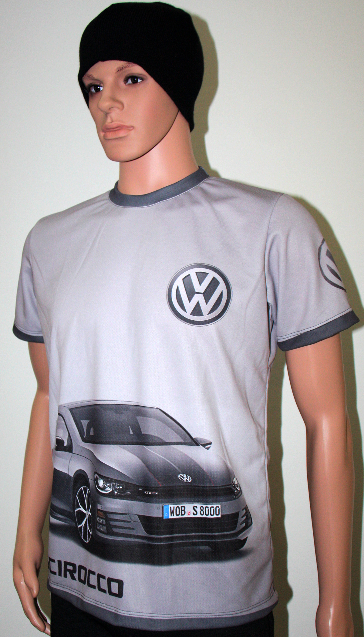vw scirocco t shirt with logo and all over printed picture t shirts with all kind of auto. Black Bedroom Furniture Sets. Home Design Ideas