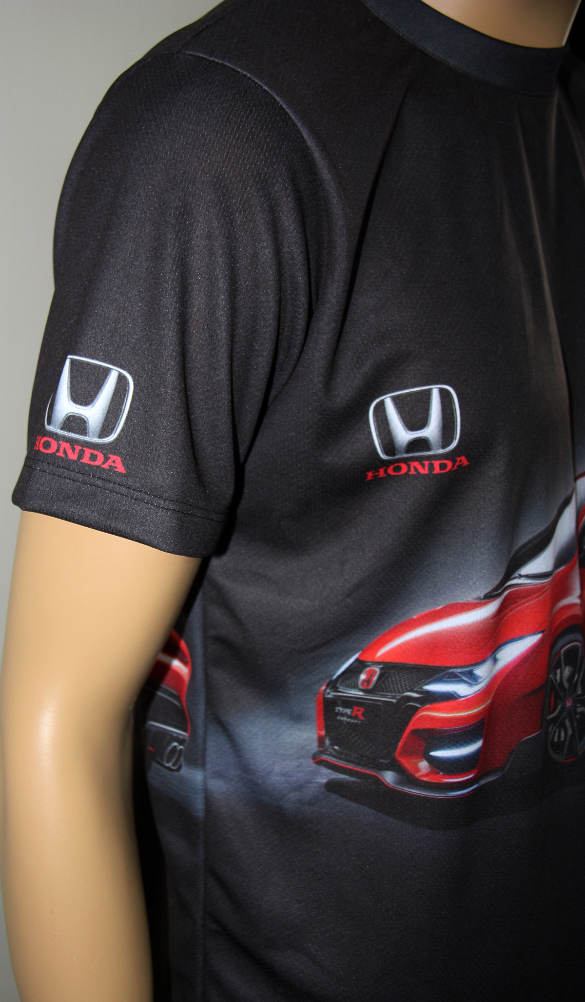 Honda Type R T Shirt With Logo And All Over Printed