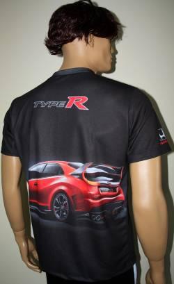 honda type r camiseta motorsport racing