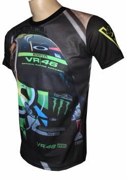 yamaha wrc rossi doctor vr46 maglietta motorsport racing