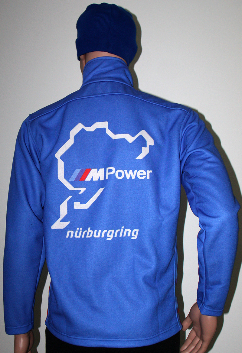 Bmw Nurbugring Blue Jacket T Shirts With All Kind Of Auto Moto