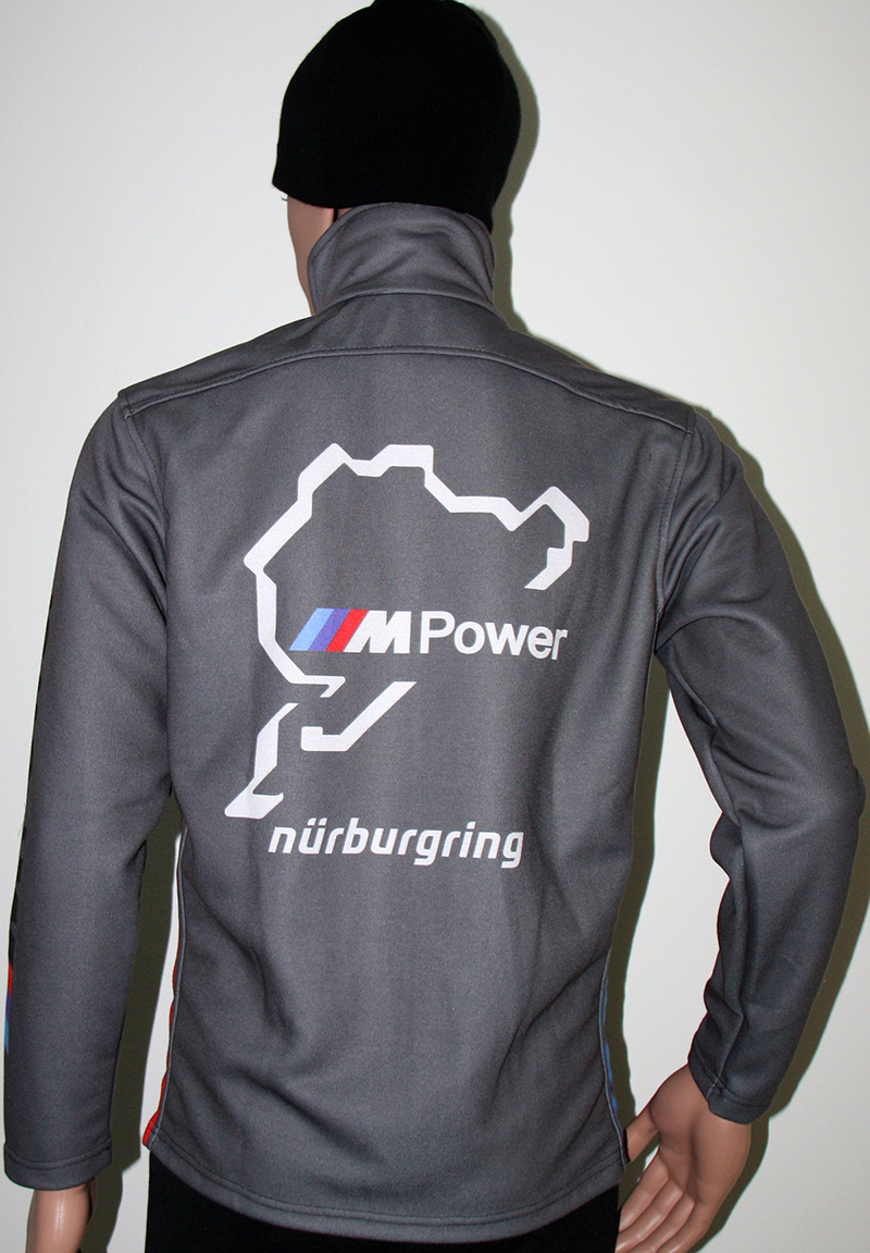 Bmw Nurburgring Grey Jacket T Shirts With All Kind Of Auto Moto