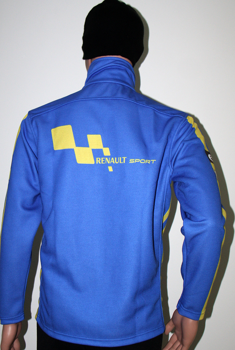 Renault sport blue jacket t shirts with all kind of auto for Sport coat with t shirt