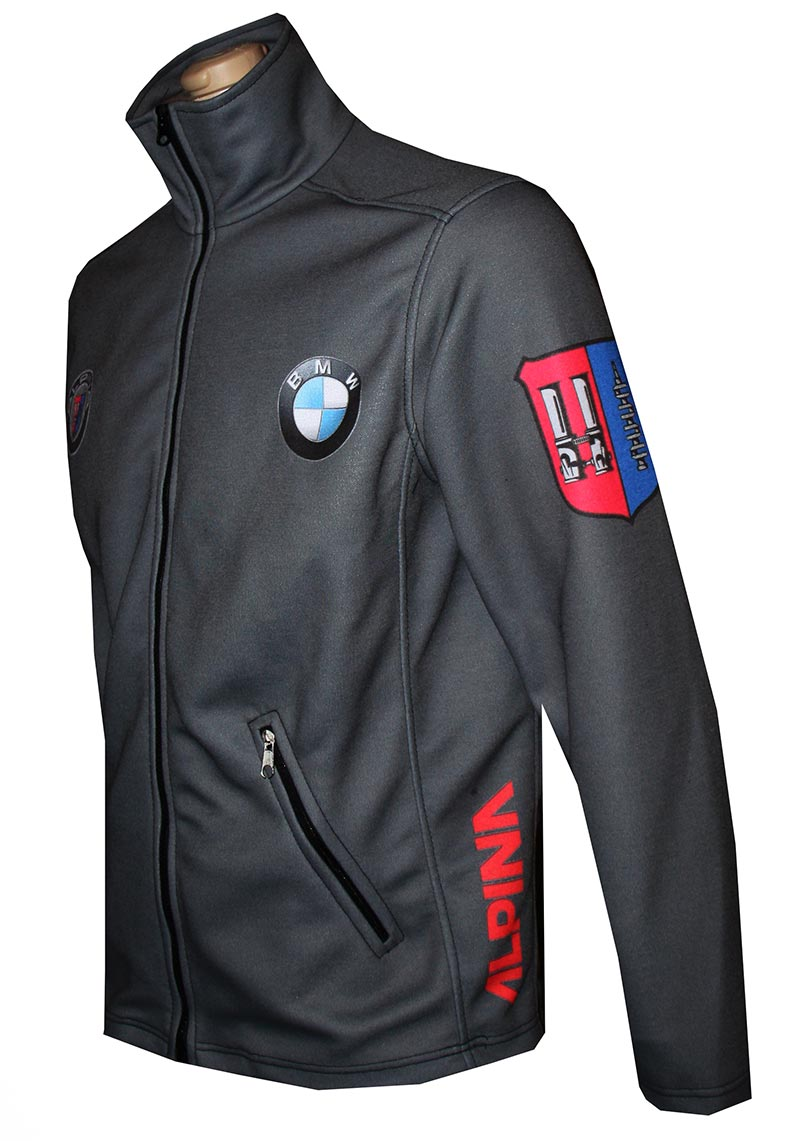 bmw alpina zip jacket t shirts with all kind of auto. Black Bedroom Furniture Sets. Home Design Ideas