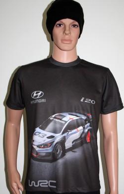 футболка моторспорт racing хюундай и2о врц