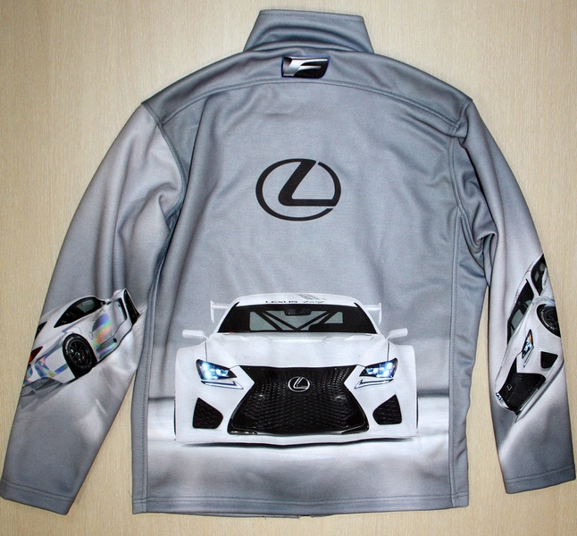 2d619e1d LEXUS RC F GT3 ZIP JACKET - T-shirts with all kind of auto, moto ...