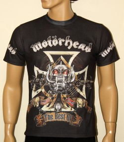 motorhead band music t shirt