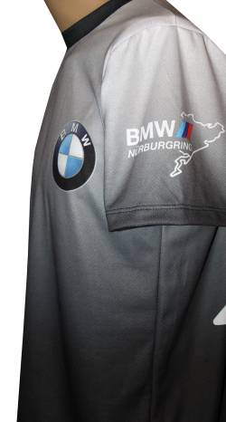 bmw nurburgring m power motorsport racing shirt