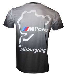 bmw nurburgring m power motorsport racing tshirt