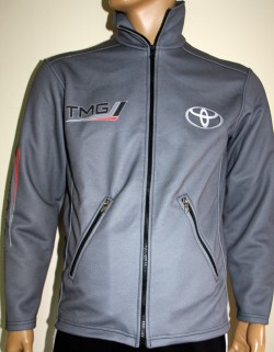 toyota tmg jacket zip motorsport racing