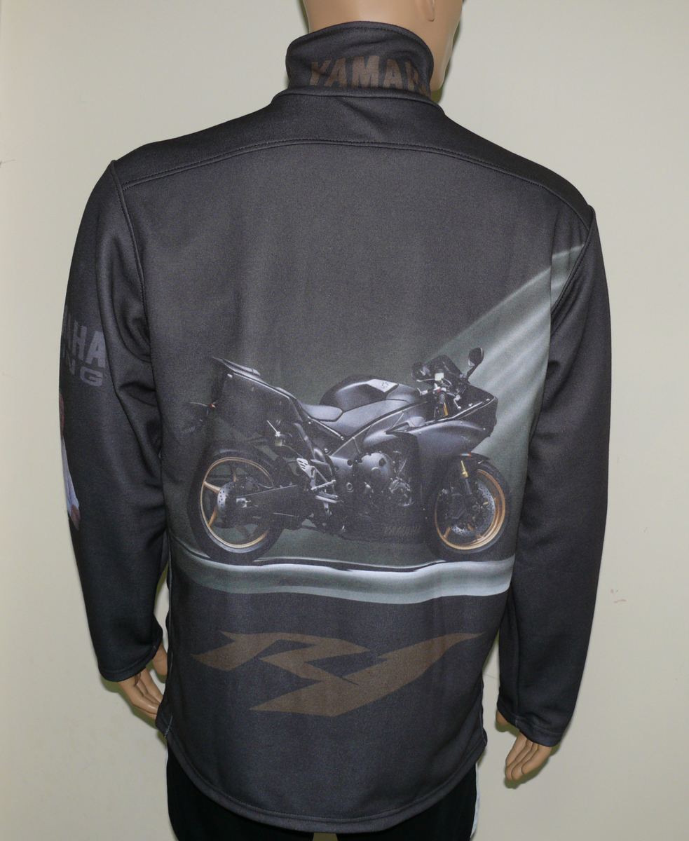 Yamaha yzf r1 2009 zip jacket t shirts with all kind of for Yamaha r1 motorcycle jackets