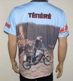 Tee shirt xtz 660 Yamaha-xt660z-tenere-enduro-maglietta-motorsport-racing