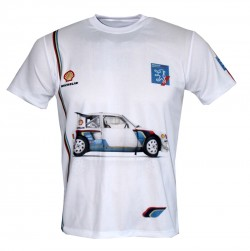 peugeot sport 205 t16 t shirt motorsport racing