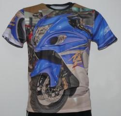 suzuki gsx 1300r hayabusa 2015 busa blue silver l5 l6 t shirt2