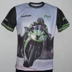 kawasaki ninja zx 6r 10r 12r moto camiseta