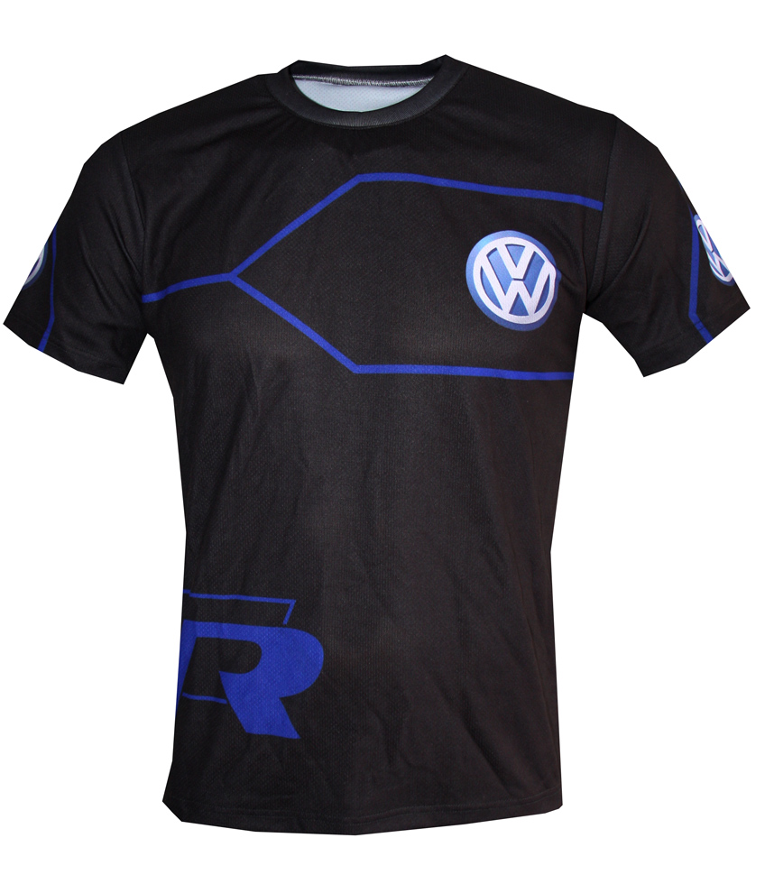vw t shirt with logo and all over printed picture t shirts with all kind of auto moto. Black Bedroom Furniture Sets. Home Design Ideas
