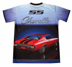 tshirt chevrolet chevelle ss motorsport racing1