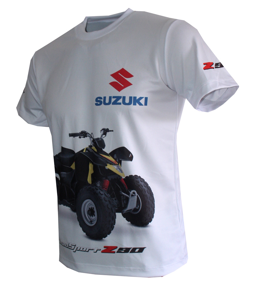 suzuki z90 t shirt with logo and all over printed picture. Black Bedroom Furniture Sets. Home Design Ideas