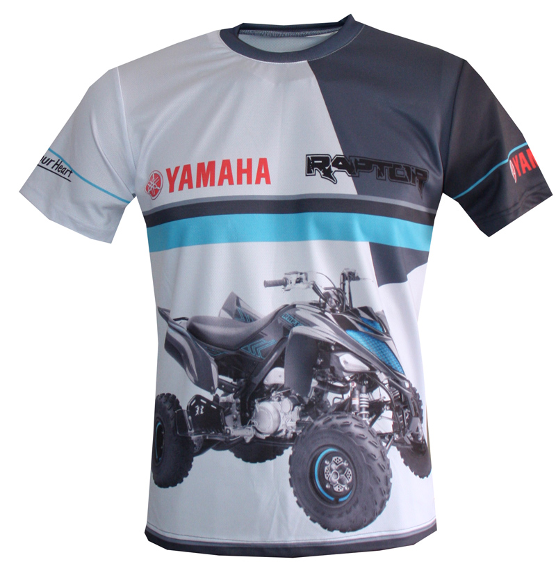 yamaha raptor t shirt with logo and all over printed picture t shirts with all kind of auto. Black Bedroom Furniture Sets. Home Design Ideas