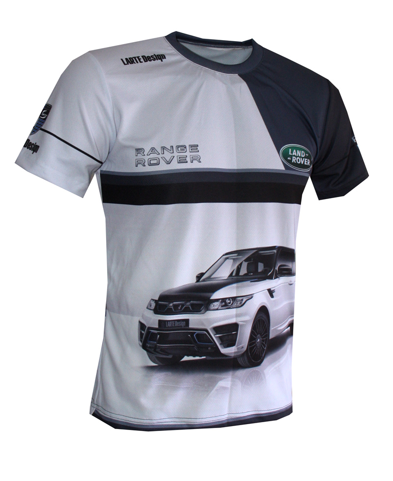 range rover t shirt with logo and all over printed picture t shirts with all kind of auto. Black Bedroom Furniture Sets. Home Design Ideas