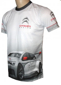 camiseta citroen wrc loeb rally motorsport racing