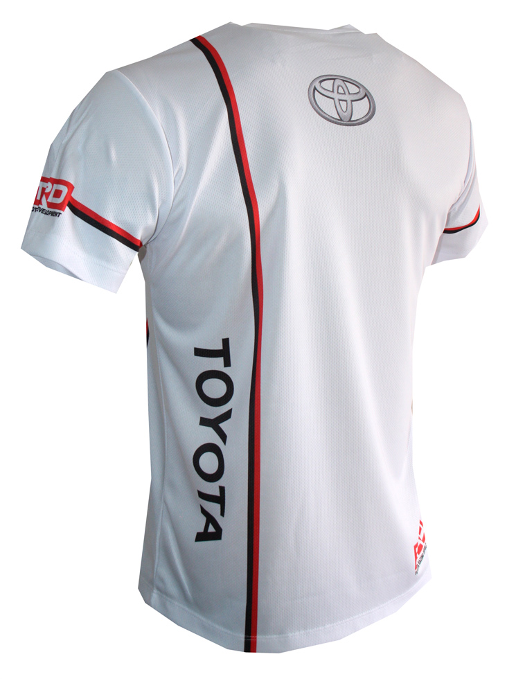 Toyota T Shirt With Logo And All Over Printed Picture T