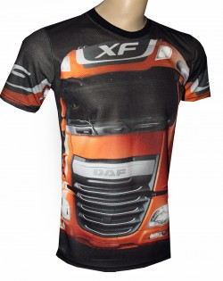 camiseta daf truck xf motorsport racing