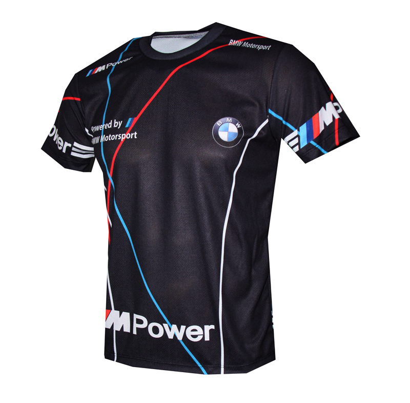BMW Motorsport t-shirt with logo and all-over printed ...