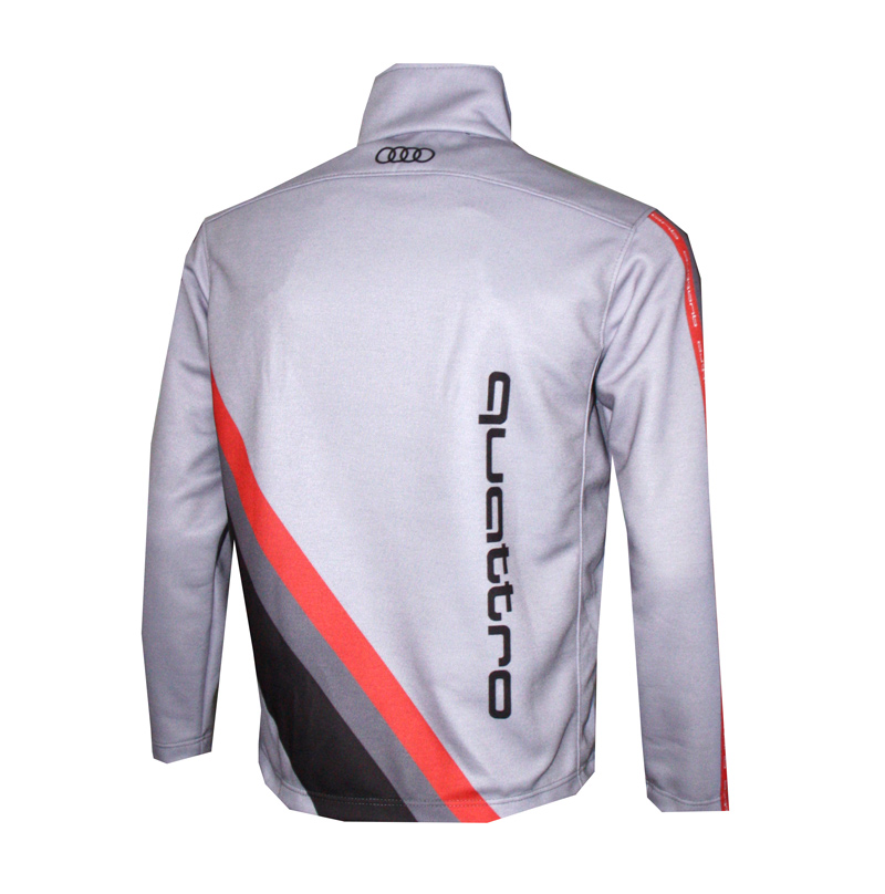 audi quattro zip jacket t shirts with all kind of auto. Black Bedroom Furniture Sets. Home Design Ideas