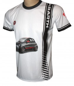camiseta motorsport racing fiat abarth