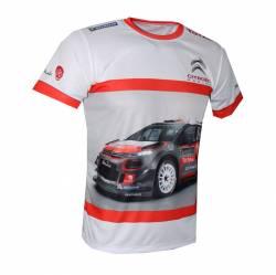 citroen racing wrc motorsport t shirt