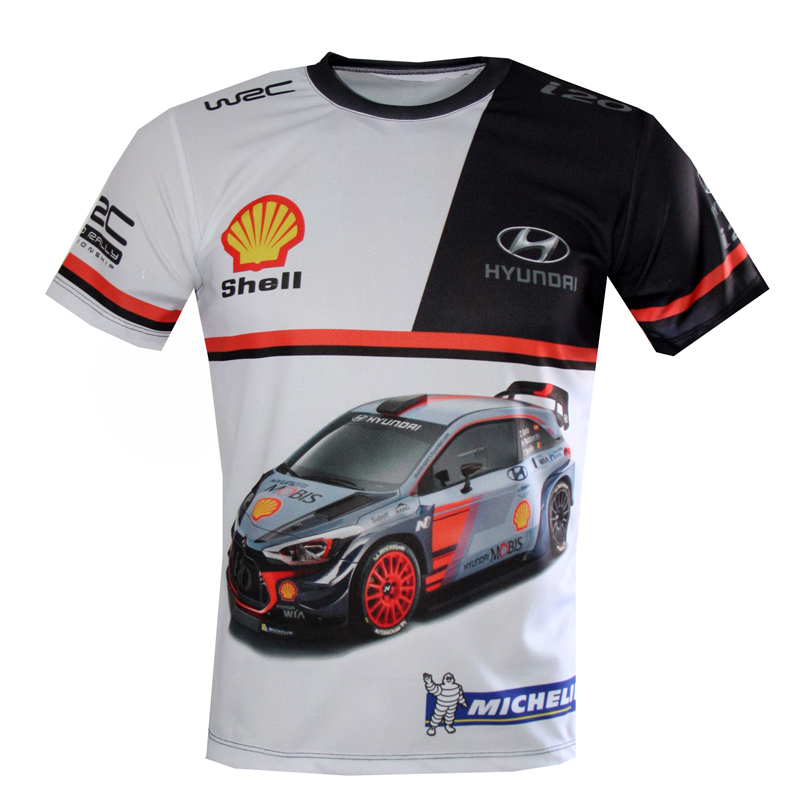 hyundai i20 wrc coupe 2017 racing t shirtjpg - Racing T Shirt Design Ideas