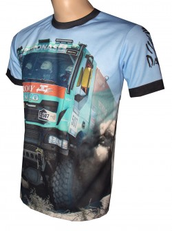 shirt motorsport racing iveco dakar derooy
