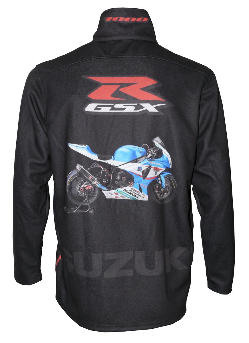 Suzuki Gsx R 1000 2004 Zip Fleece Jacket T Shirts With