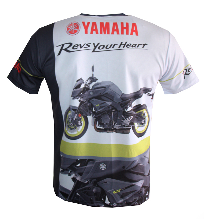 yamaha fz 10 t shirt with logo and all over printed picture t shirts with all kind of auto. Black Bedroom Furniture Sets. Home Design Ideas