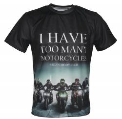 sportsbike collector addict racing t shirt