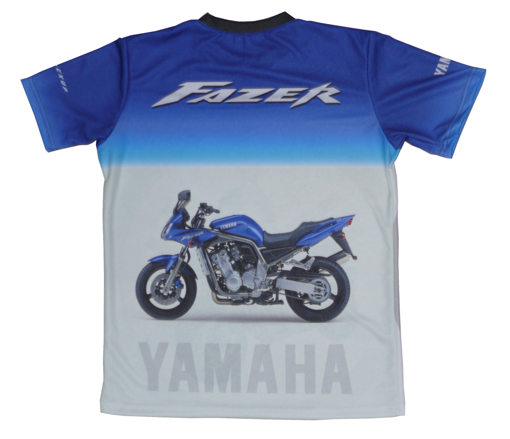 yamaha 1000 fazer t shirt with logo and all over printed. Black Bedroom Furniture Sets. Home Design Ideas