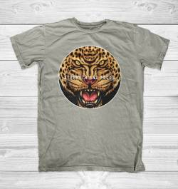 jaguar animal strength focus camiseta
