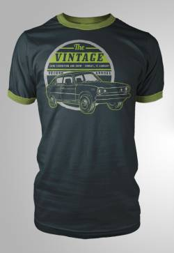 vintage american car show racing tee