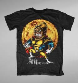 super monkey character funny art design shirt
