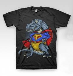 t rex funny dinosaur character tshirt