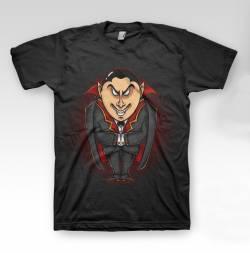 vampire dracula all over print t shirt