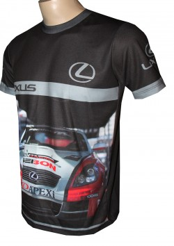 shirt motorsport racing lexus rally