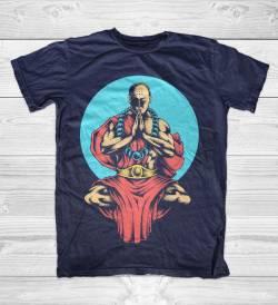 inner peace yoga dalai lama monk t shirt