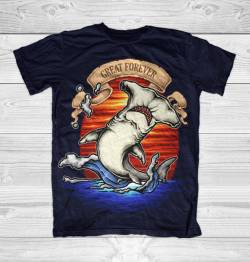 king ocean greatness loch ness creature tshirt